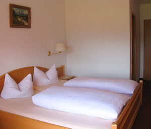 Unsere Double room